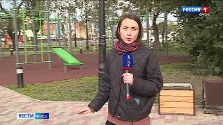 В Омске заканчивается второй этап благоустройства набережной Оми