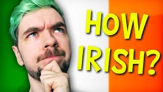 HOW IRISH IS JACKSEPTICEYE? | DNA Test (Ancestry)