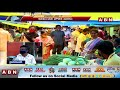 Huge Rush At GHMC Markets In Hyderabad During covid | ABN Telugu