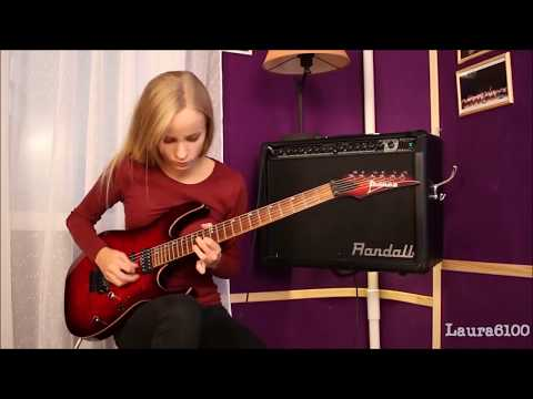Artist of the Month! Super Talented Female  Guitarist  Laura Lace Demos her Amazing Skills!