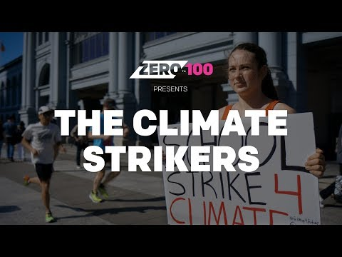 the Climate Strikers