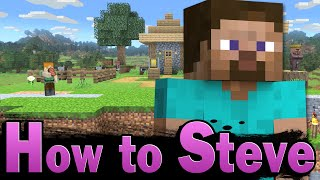 Smash Ultimate: How to Steve