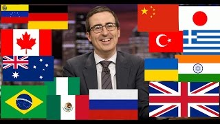 John Oliver Describes Countries (Funny Compilation)