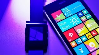 Pebble   Connect hands on with Windows Phone