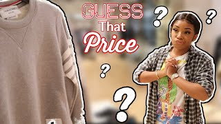 IF YOU GUESS THE PRICE, ILL BUY IT FOR YOU CHALLENGE  *TERRIBLE IDEA*