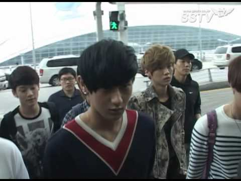 [SSTV] 동방신기-슈퍼주니어-샤이니-EXO, 아이돌 파워 '공항이 들썩~'