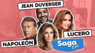 #SagaLive Lucero, Napoleón, Jean Duverger y mesa de encuestadores con Adela Micha