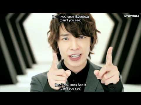 Super Junior-M - Super Girl (Korean Version) MV Eng Sub & Romanization Lyrics