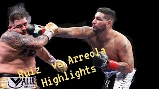 Andy Ruiz Jr  vs Chris Arreola [Highlights] 2021