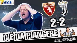 Torino-Juventus 2-2 con Valerio Pavesi guarito dal Covid ma sempre INCAZZATO!