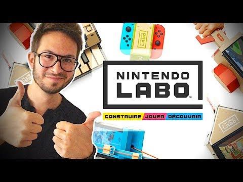 NINTENDO LABO, LA SUPERBE SURPRISE SWITCH - YouTube