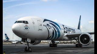 الهبوط في مطار القاهرة A330 Egyptair     -