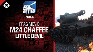 Превью: Легкий Танк M24 Chaffee - Little devil от Arti25  [World of Tanks]