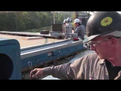 Laser Tracker Helps Repair Heavy Machinery