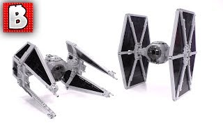 Best LEGO Star Wars TIE Fighter & TIE Interceptor MOC! Instructions Now Available