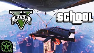 Airdroping a Submarine Car - GTA V: Lesson 2