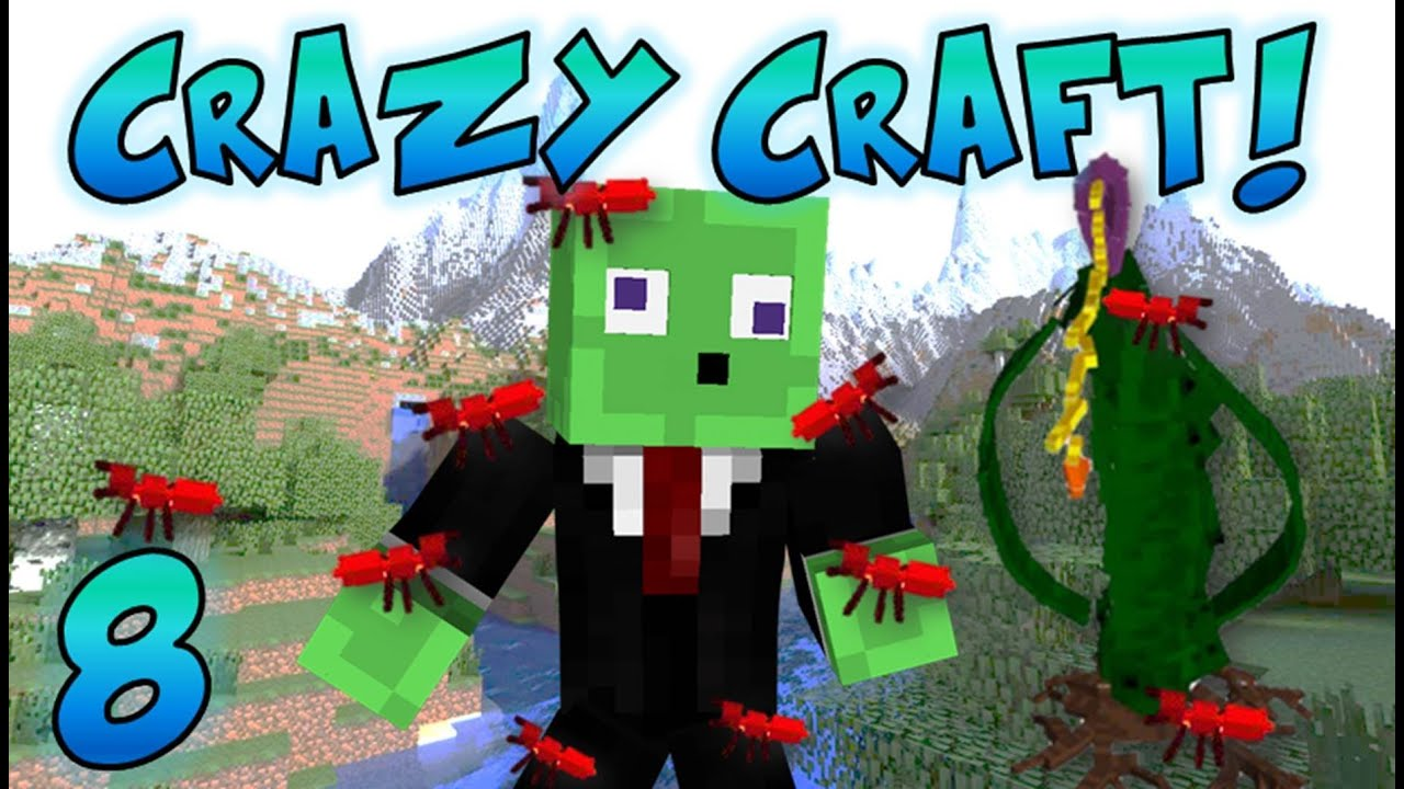 Minecraft Crazy Craft Mod Pack Download