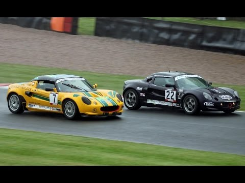 Lotus Elise   Oulton Park 2015 Podium win BCS Global HD
