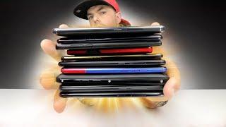 O MAIOR UNBOXING de SMARTPHONES em PT