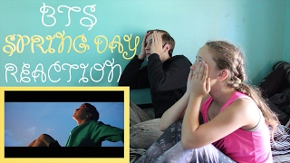BTS - SPRING DAY MV REACTION (DECEASED)
