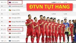 ĐT Việt Nam bất ngờ tụt hạng trên BXH FIFA tháng 6 vì một Đội tuyển lạ - News Tube