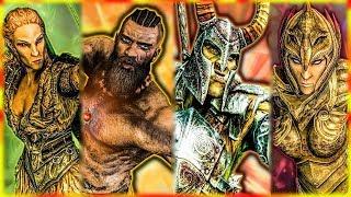 Skyrim - How Every Race was Created - Elder Scrolls Lore