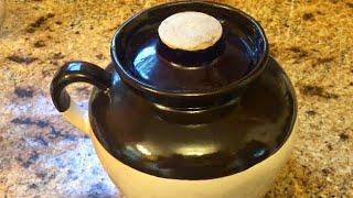 Baked Beans in a Bean Pot.