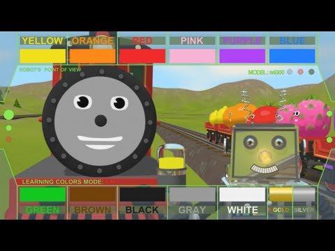 Limba engleza pentru copii - Să învăţam culorile