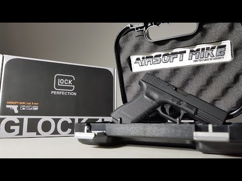 video GLOCK Gen 4 G17 Gas Blowback Airsoft Pistol By Elite Force
