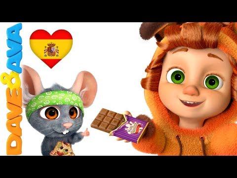😍 Canciones para Niños | Canciones Infantiles en Español de Dave y Ava 😍