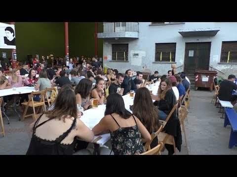 XI. Garagardo festa ospatu zuten legorretarrek Aldapa Haundi elkartearen eskutik