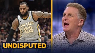 Michael Rapaport predicts LeBron's Cavs are going to get upset in the playoffs | UNDISPUTED