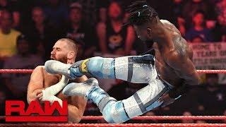 Kofi Kingston vs. Sami Zayn: Raw, June 24, 2019