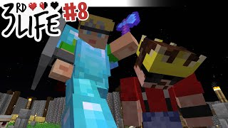 Red Winter Is Coming   Minecraft 3rd Life SMP #8