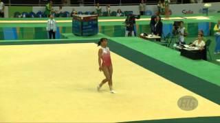 CHUSOVITINA Oksana (UZB) - 2016 Olympic Test Event, Rio (BRA) - Qualifications Floor Exercise