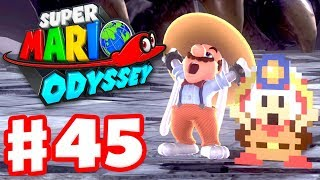 Super Mario Odyssey - Gameplay Walkthrough Part 45 - Captain Toad Hint Art! (Nintendo Switch)
