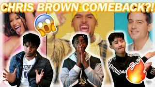CHRIS BROWN MAKING A COMEBACK?!?! CHRIS BROWN - WOBBLE UP FT. NICKI MINAJ, G-EAZY REACTION!!!