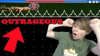 THE MOST OUTRAGEOUS THING I HAVE EVER DONE! - CC Challenges P. 23 (Geometry Dash)