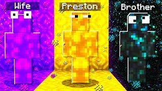 Extreme PORTAL Camo PRANK in Minecraft Hide & Seek!