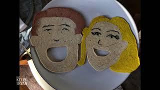 Jimmy Kimmel Made Kelly & Ryan Pancakes