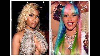 Nicki Minaj disses Cardi B sublimnally by calling her 'Milli Vanilli' on Future x Juice Wrld album.