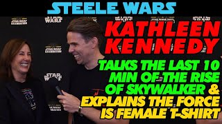 """Kathleen Kennedy """"The Force is in ALL OF US"""""""