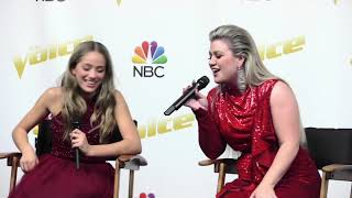 The Winner of 'The Voice' Season 14 is Brynn Cartelli, Team Kelly | The Voice Press Conference