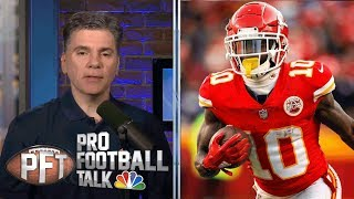 PFT Overtime: Chiefs' Tyreek Hill avoids suspension   Pro Football Talk   NBC Sports