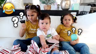SURPRISING OUR KIDS WITH REALLY BAD CHRISTMAS GIFTS!!! **UNEXPECTED REACTIONS**