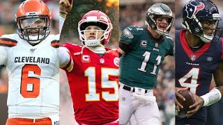 2019-20 NFL Season Predictions! Who Wins Super Bowl 54?