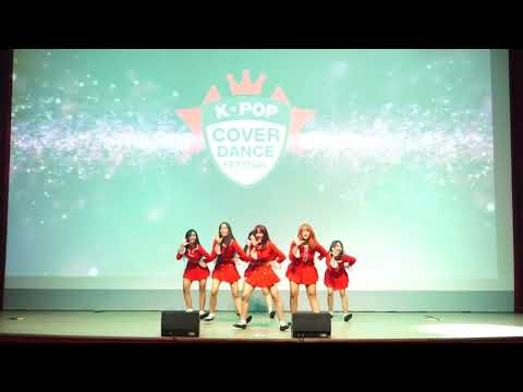 [180505] GFRIEND - Crush , 귀를 기울이면, Time For The Moon Night Dance Cover by AURALIZE at KCDF 2018.