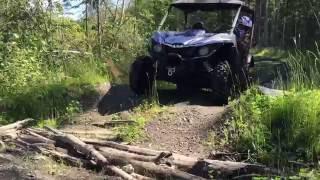2016 Yamaha Wolverine Rspec ride to Buckhorn Lake