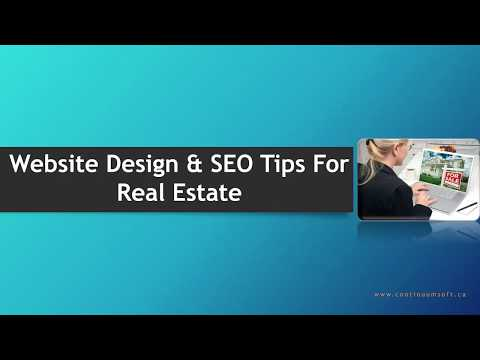 Web Design & SEO Tips For Real Estate Businesses 8 | Web Design, Mobile Apps and SEO Toronto, Canada