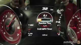 2015 Dodge Charger SRT Hellcat 0-60 MPH Test Video - 707 HP Supercharged 6.2 Liter Hemi V-8